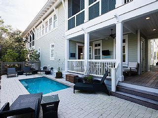 Beach Bound New 5 Br Watercolor Home Carriage House Private Pool