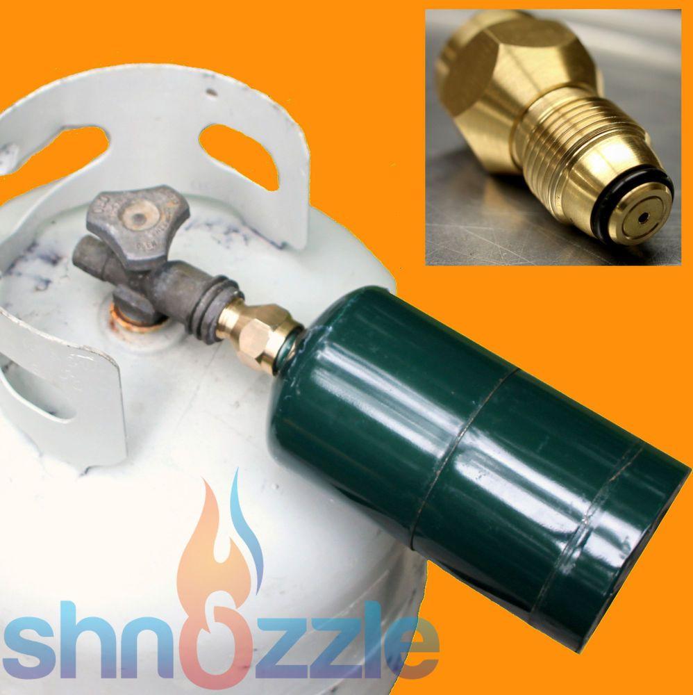 Propane Refill Adapter Lp Gas 1 Lb Cylinder Tank Coupler Bottles Heater Capming Ebay Propane Cylinder Propane Propane Heater