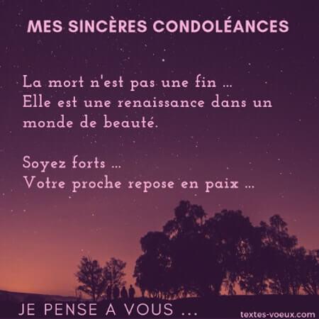 Beaux Messages Condoleances Touchantes Mots De Soutien Deuil Et Mort Message De Condoleances Condoleances Citations Texte Condoleances