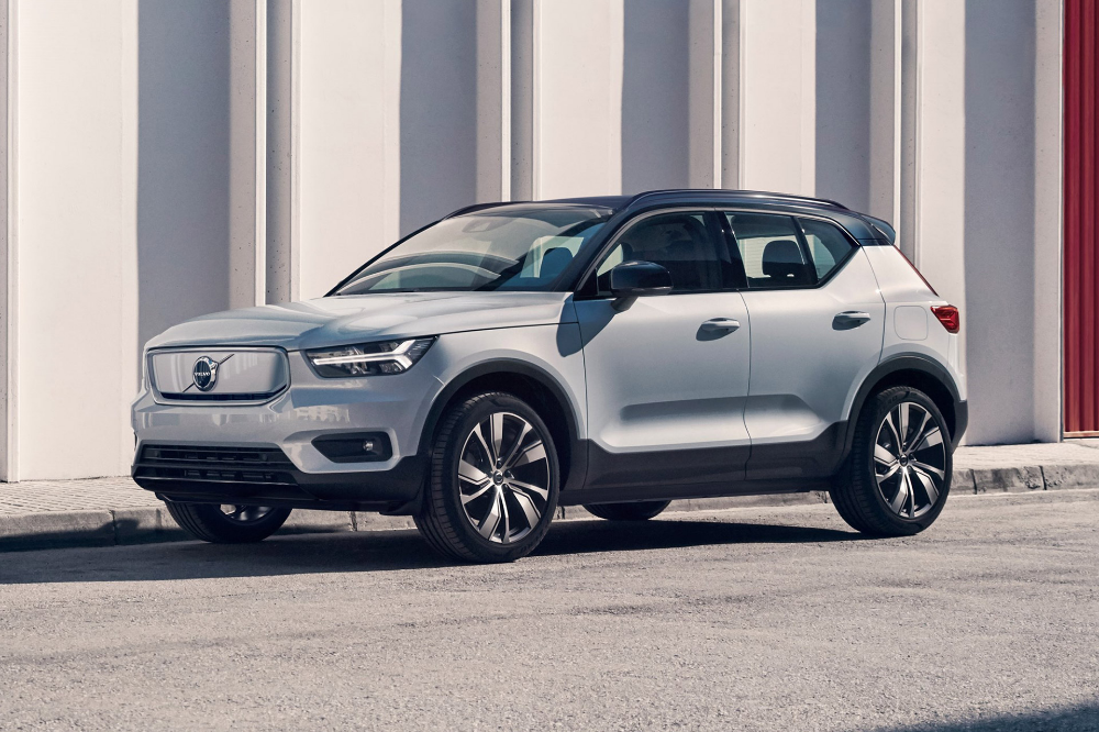 2020 Volvo Xc40 Recharge Suv Volvo All Electric Cars Suv