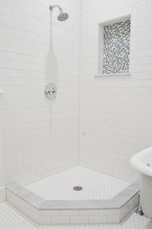 Tiek Built Homes Bathrooms Subway Tiles Shower Surround