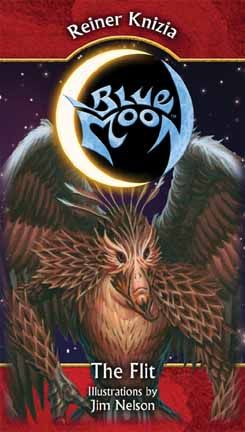 Blue Moon: The Flit is a Peoples expansion for the Blue Moon basic game. By adding the Flit to your Blue Moon collection, you gain a whole new deck with which to play this non-collectible customizable card game. ($9.95)