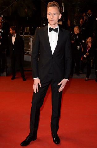 Tom Hiddleston in Alexander McQueen at the Only Lovers Left Alive Cannes Film Festival premiere