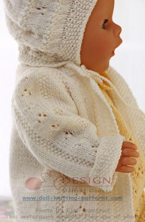 Stricken für puppen | tricot bebe | Pinterest | Puppen, Stricken und ...