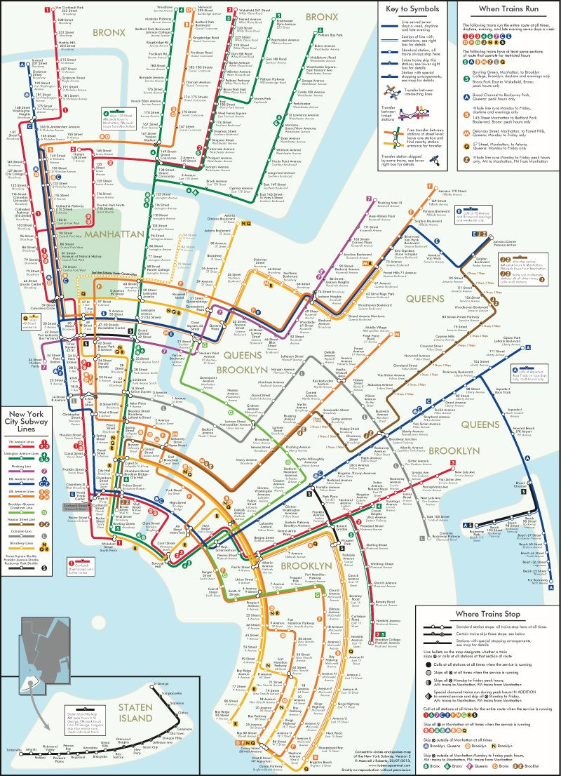 Manhattan Mta Mini Subway Map And Address Finder.Check Out These Cool Alternative Versions Of The Classic Mta Subway