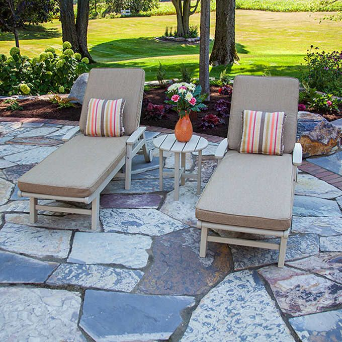 Artisan 3-piece Chaise Lounge Set by Ivy Terrace | Chaise ...