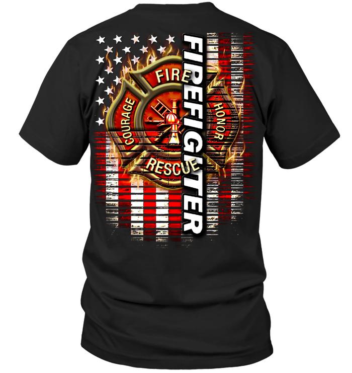 Best Custom Firefighter Shirts t shirt for fireman doing