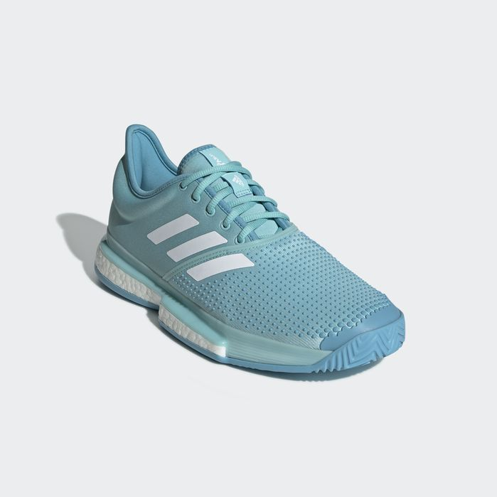 SoleCourt Parley Shoes | Blue shoes, Blue adidas, Adidas