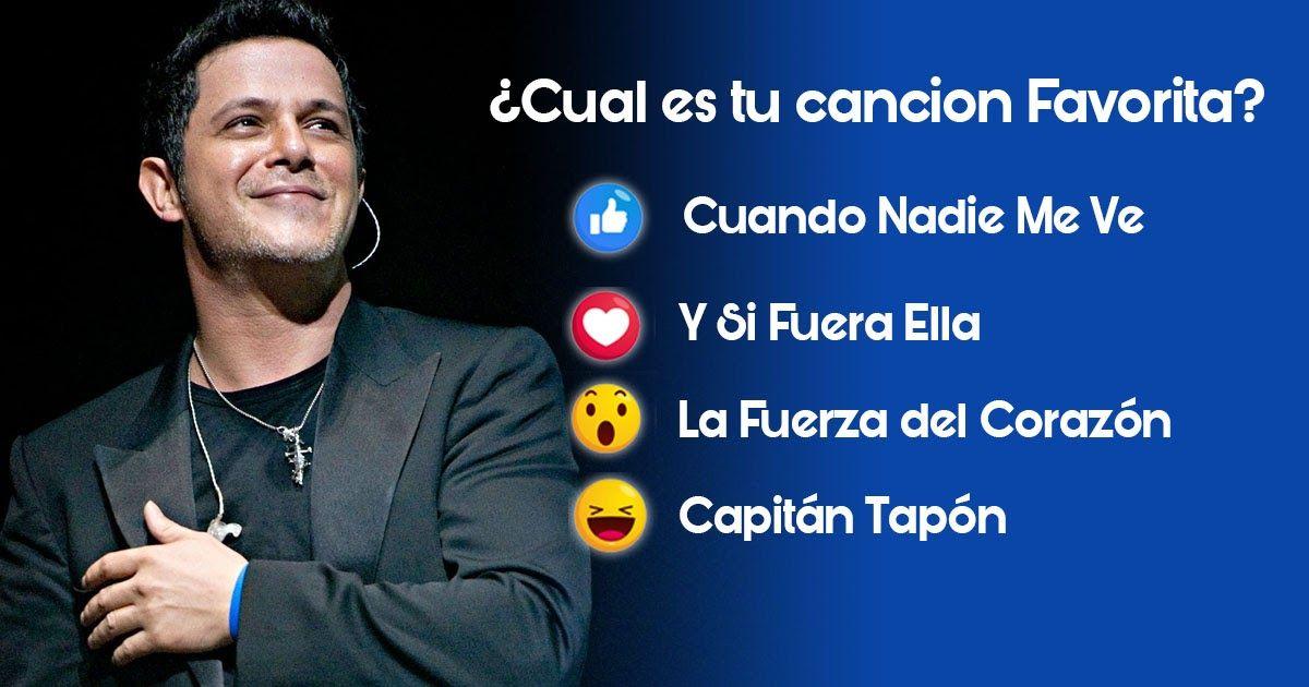 Cual Es Tu Canción Favorita Alejandro Sanz Canciones Canciones De Alejandro Sanz Alejandro