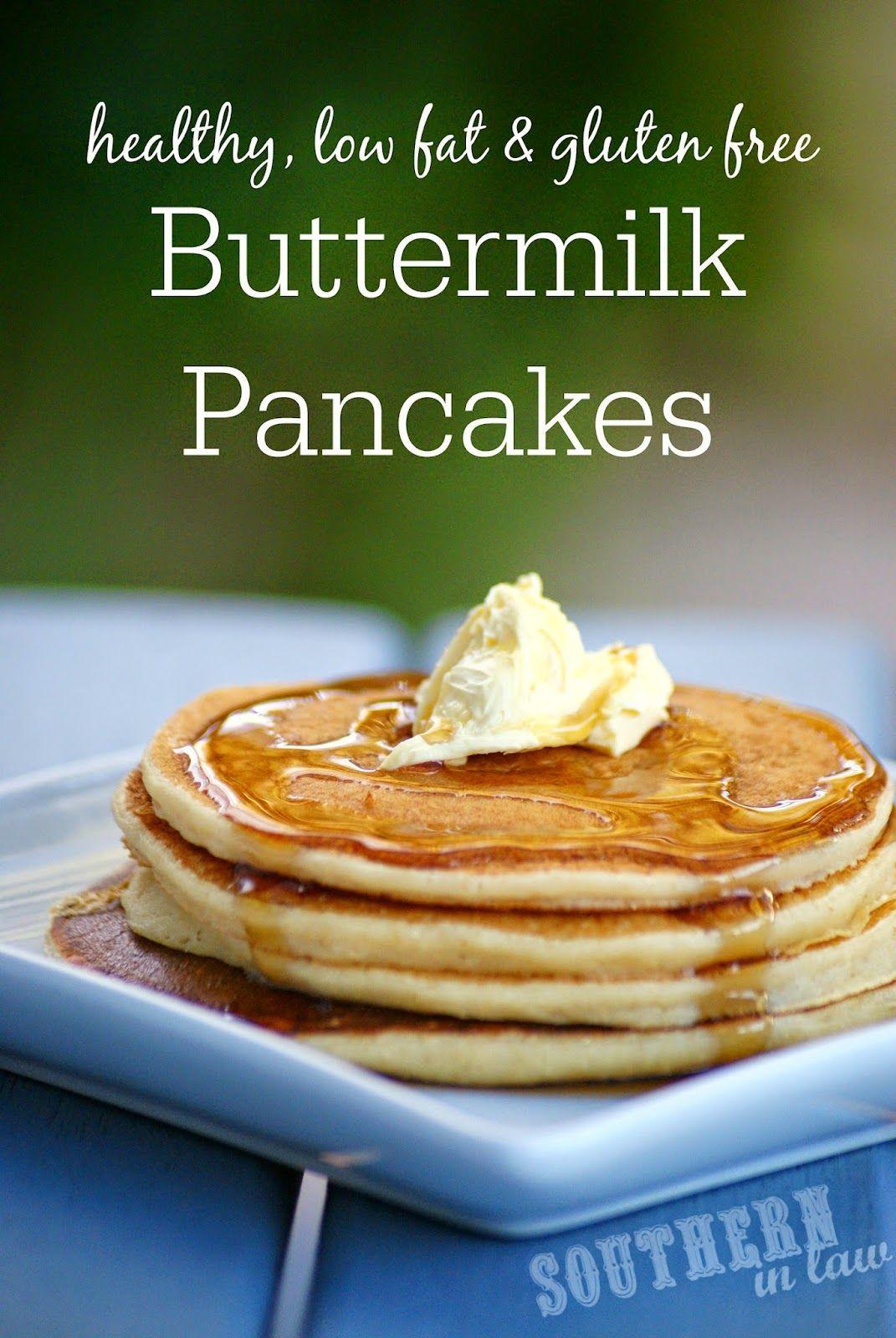 Recipe Healthy Buttermilk Pancakes Buttermilk Pancakes Recipes Gluten Free Buttermilk Pancakes