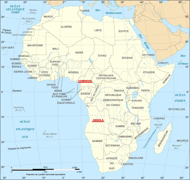 angola carte monde-