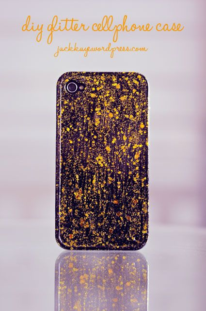 Diy glitter phone case diy do it yourself pinterest glitter diy glitter phone case solutioingenieria Image collections
