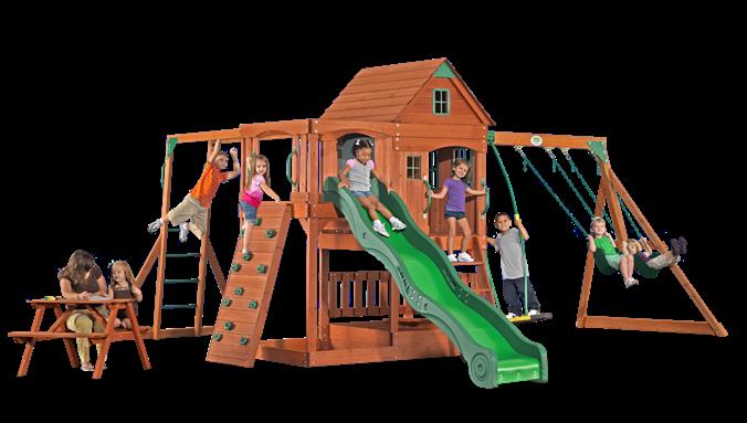 Backyard Discovery - Parkview Swing Set...my fav! | Monkey ...