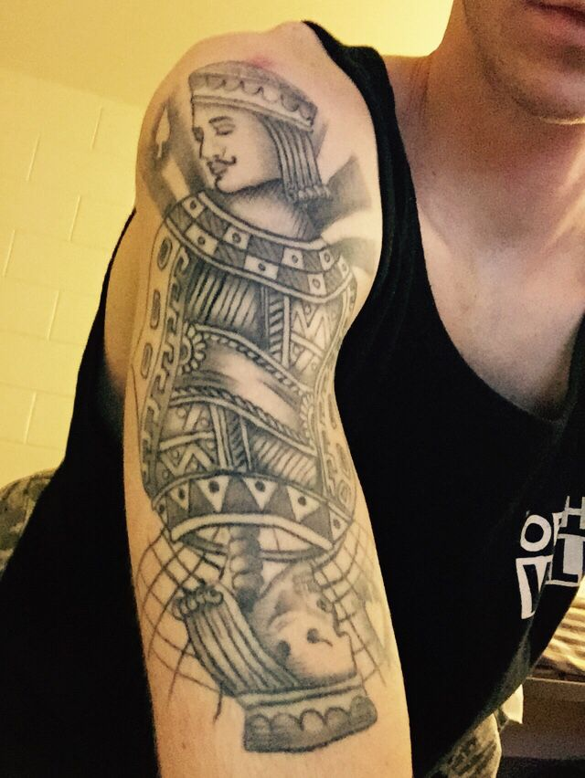 The Queen of Spades Tattoo Meaning and History - Beauty Mag