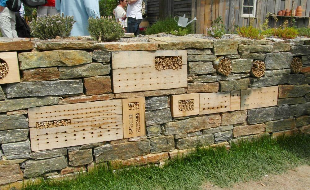 Trockenmauern Rustikaler Gartenschmuck Gartenmauern Trockenmauer Garten Hochbeet