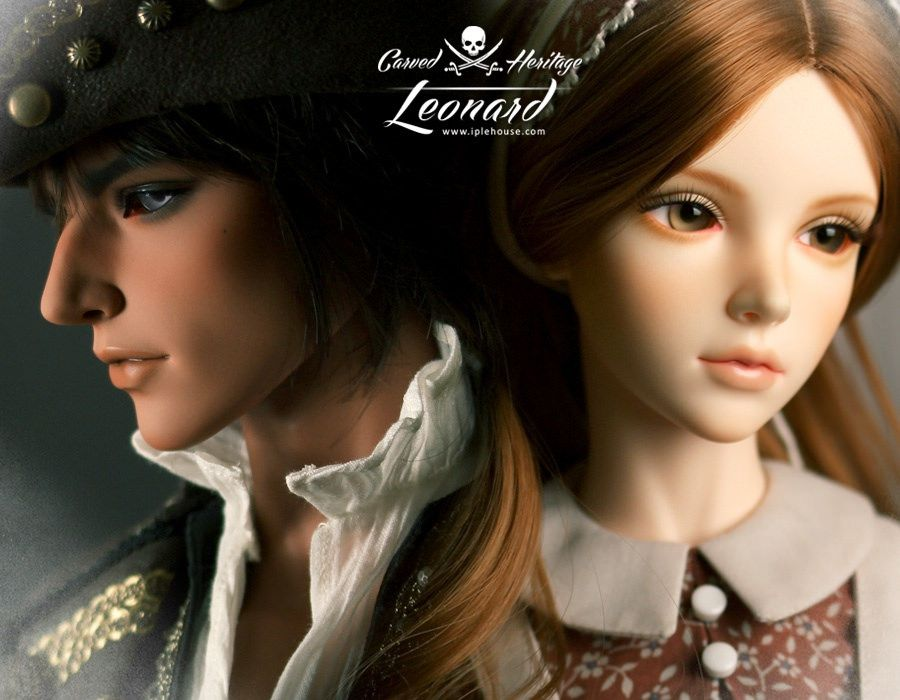 Carved Heritage - Leonard | by Iple House doll