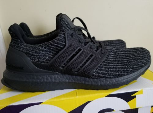 7d9911e6ba3 Details about Adidas Ultra Boost Ultraboost 4.0 Triple All Black ...