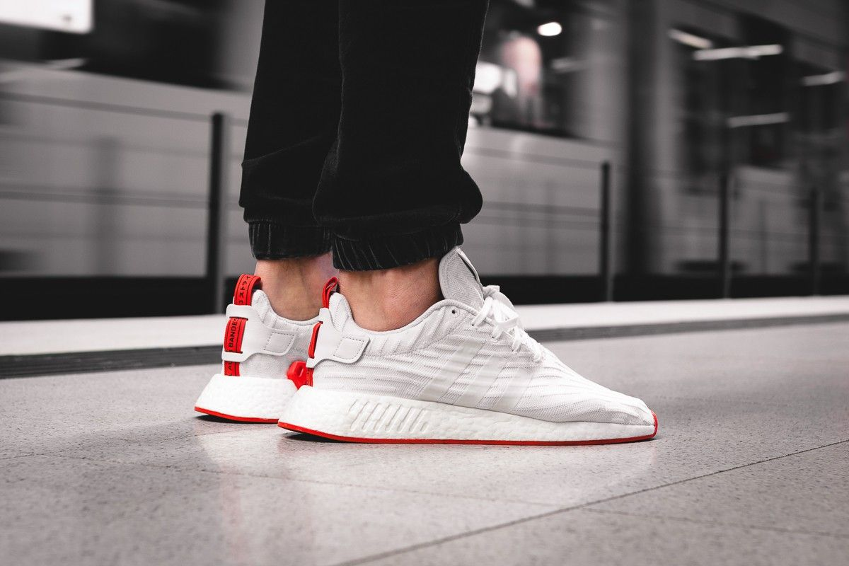 adidas nmd r2 primeknit white black discount adidas nmd shoes outlet