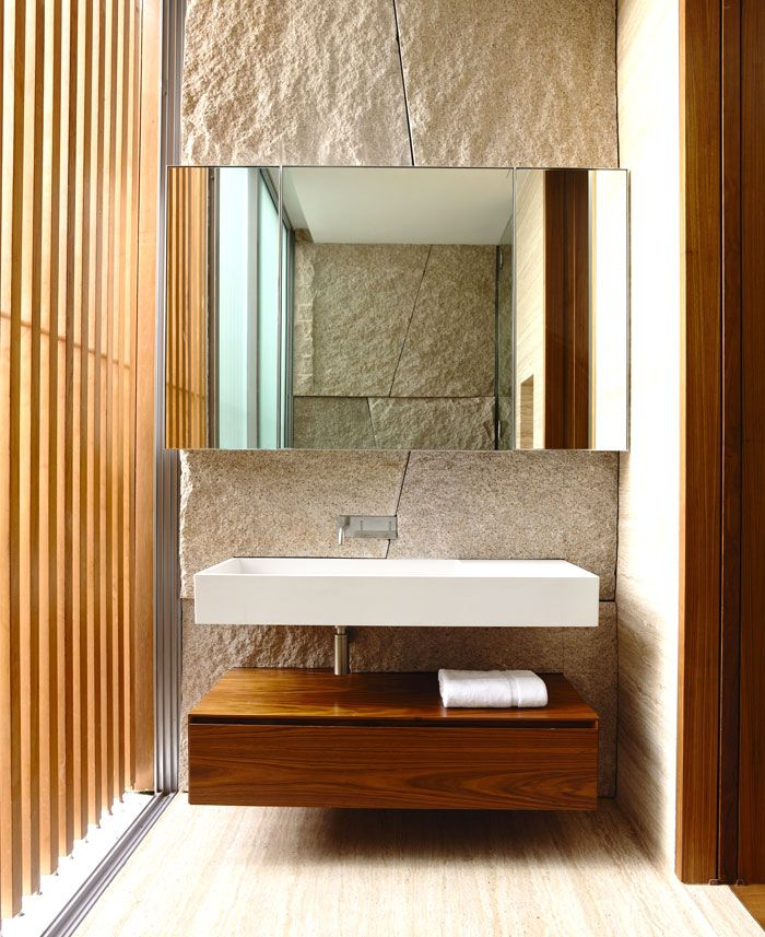 Modern Nature Inspired Home In Singapore InteriorZine - Designer bathroom sinks singapore