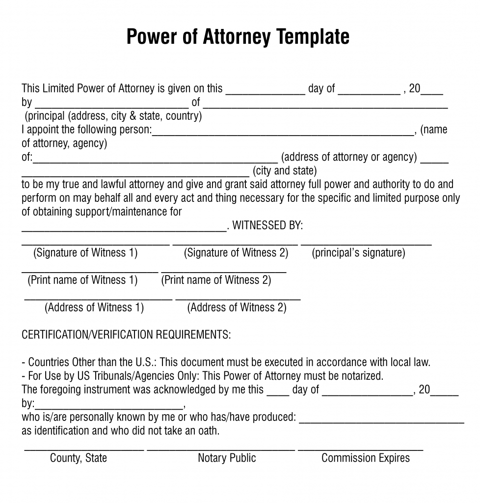 How To Get Power Of Attorney - Flix It