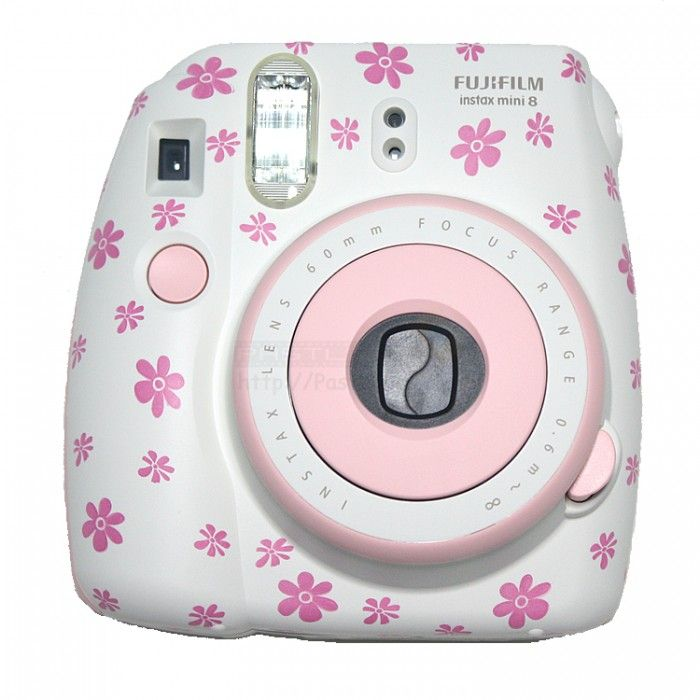 cámara instax mini 8 | Instax Mini 8 Polaroid Camera (Pink Floral ...