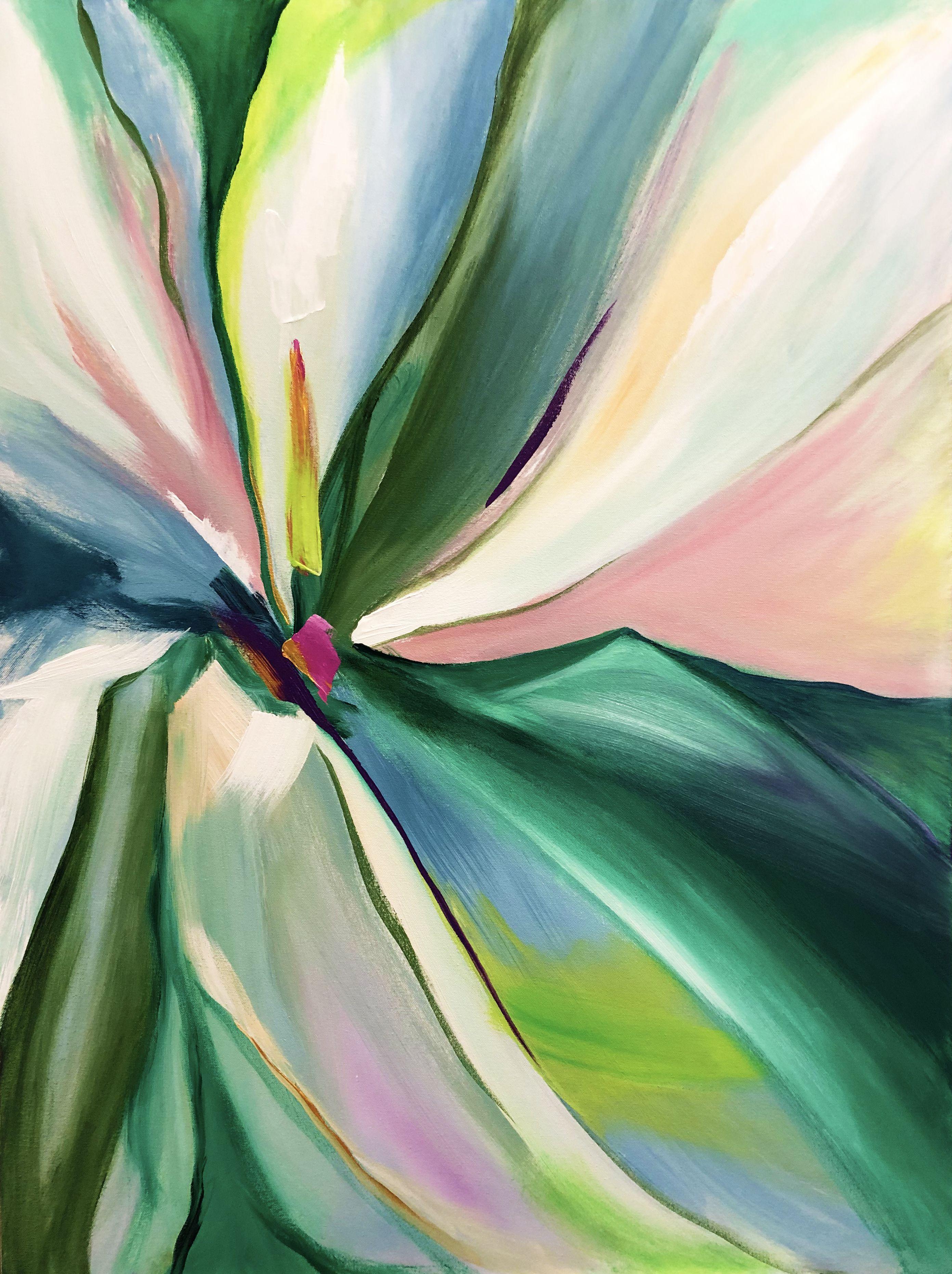 Abstract Flower Art - Cianelli Studios Art Blog