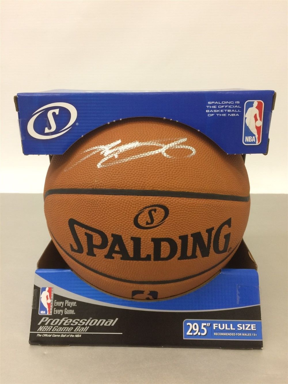 8d7908a7260 LeBron James NBA Official Spalding Signed Full Size 29.5