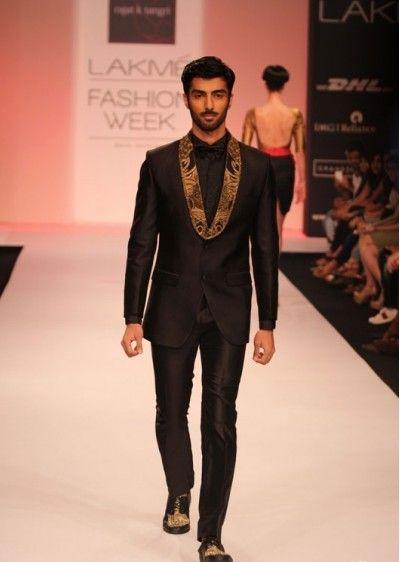 indian-men-designer-wedding-marriage-outfit-dress-clothing-black ...
