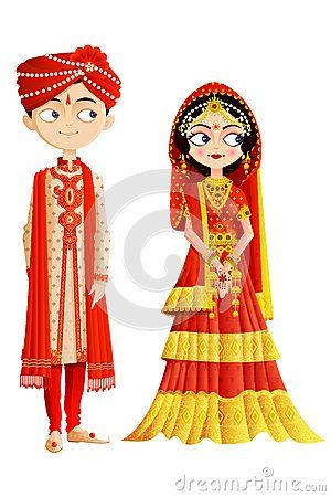 indian bride and groom clipart indian wedding couple easy to rh pinterest co uk clipart indian head clipart indian wedding