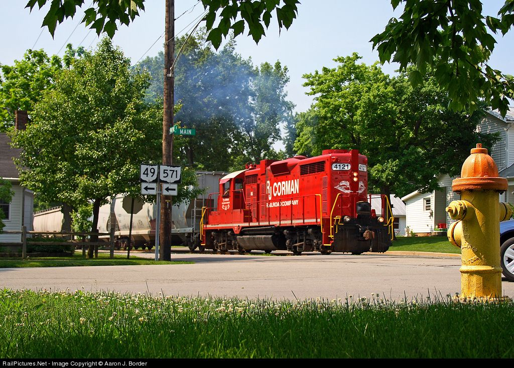 RailPictures.Net Photo: RJC 4121 R.J. Corman Railroads EMD GP20 at Greenville, Ohio by Aaron J. Border