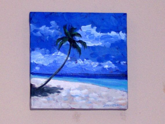 Simple Beach Painting