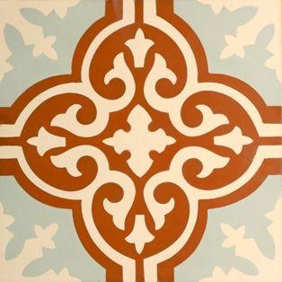 portugese-tegels -> VN Rosso 09 - Designtegels