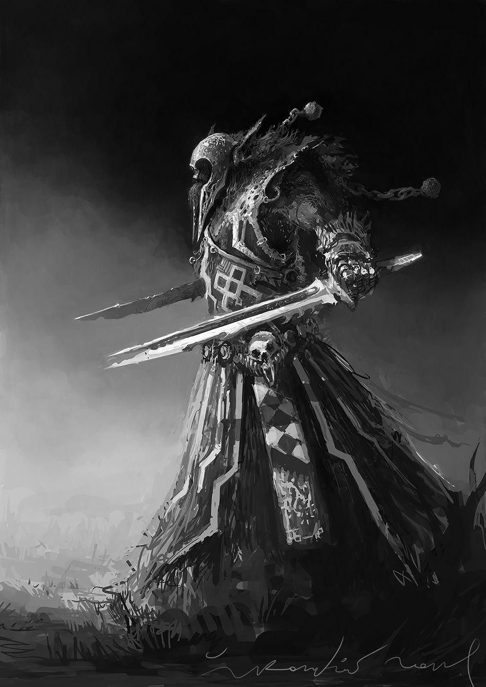 by ŽIVKO KONDIĆ Fantasy art, Fantasy warrior, Character art