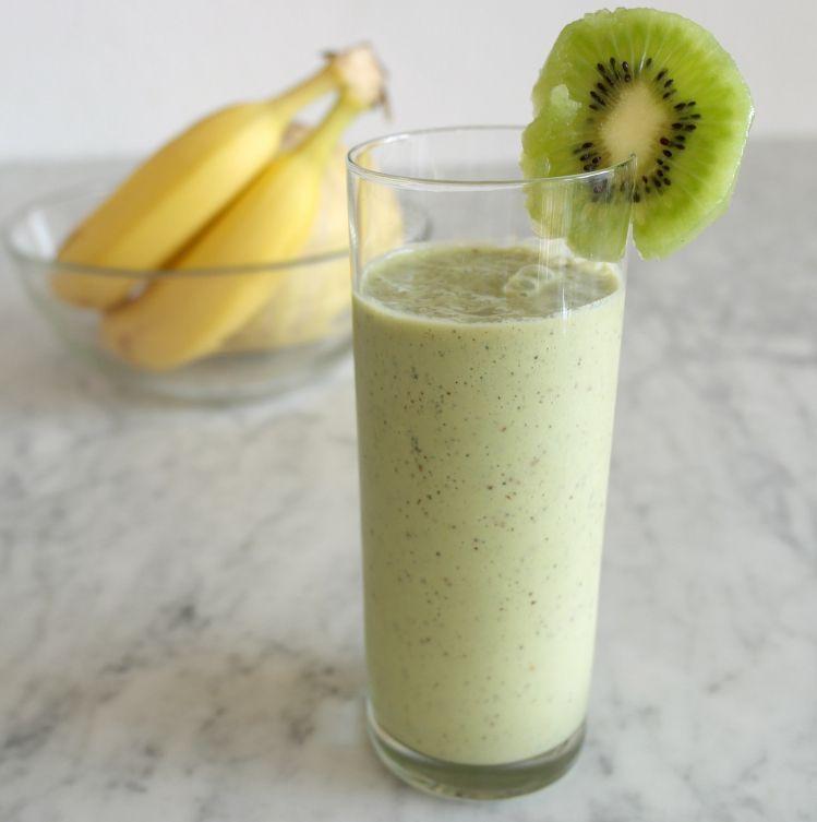smoothie kiwi tè matcha