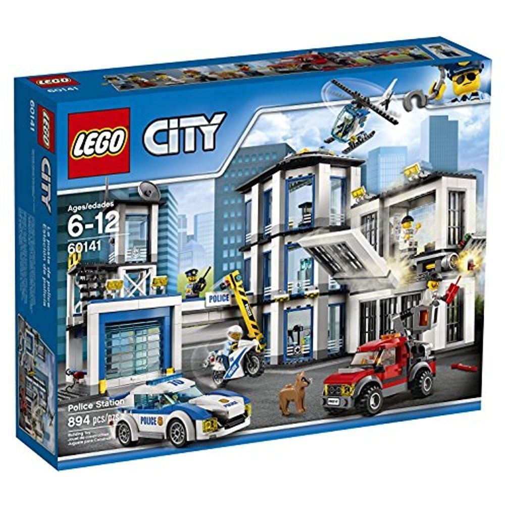Lego Complete Set City Police Station Kids Building Toy Fun Creative Play Gift Lego Lego City Police Station Lego City Police Lego City Sets