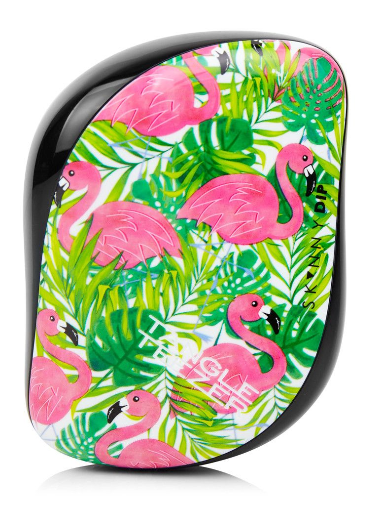 Palm Flamingo Tangle Teezer | Tangled, Flamingo and Palm