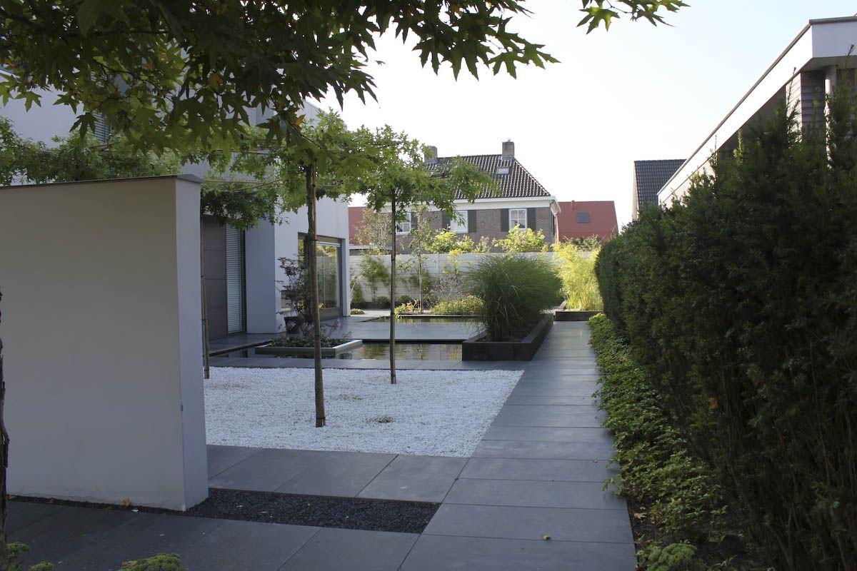 Ontwerp woning aan water google zoeken tuin pinterest in search and modern - Landscaping modern huis ...