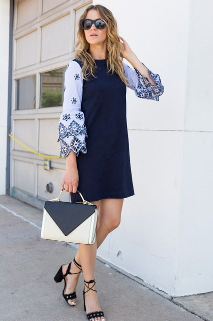Dress with Statement Sleeves