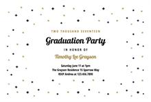 sparks stars graduation party invitationsgraduation partiesparty invitation templatesfree printable