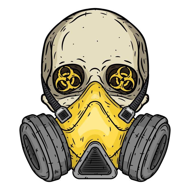 Skull Skull With Gas Mask Skull With Respirator Skull Skull With Gas Mask S Sponsored Gas Skull Res Gas Mask Drawing Mask Drawing Gas Mask Tattoo