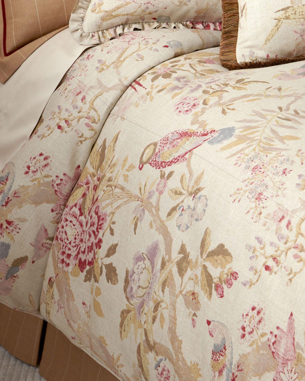 cover pin duvet perch bird birds blossoms and