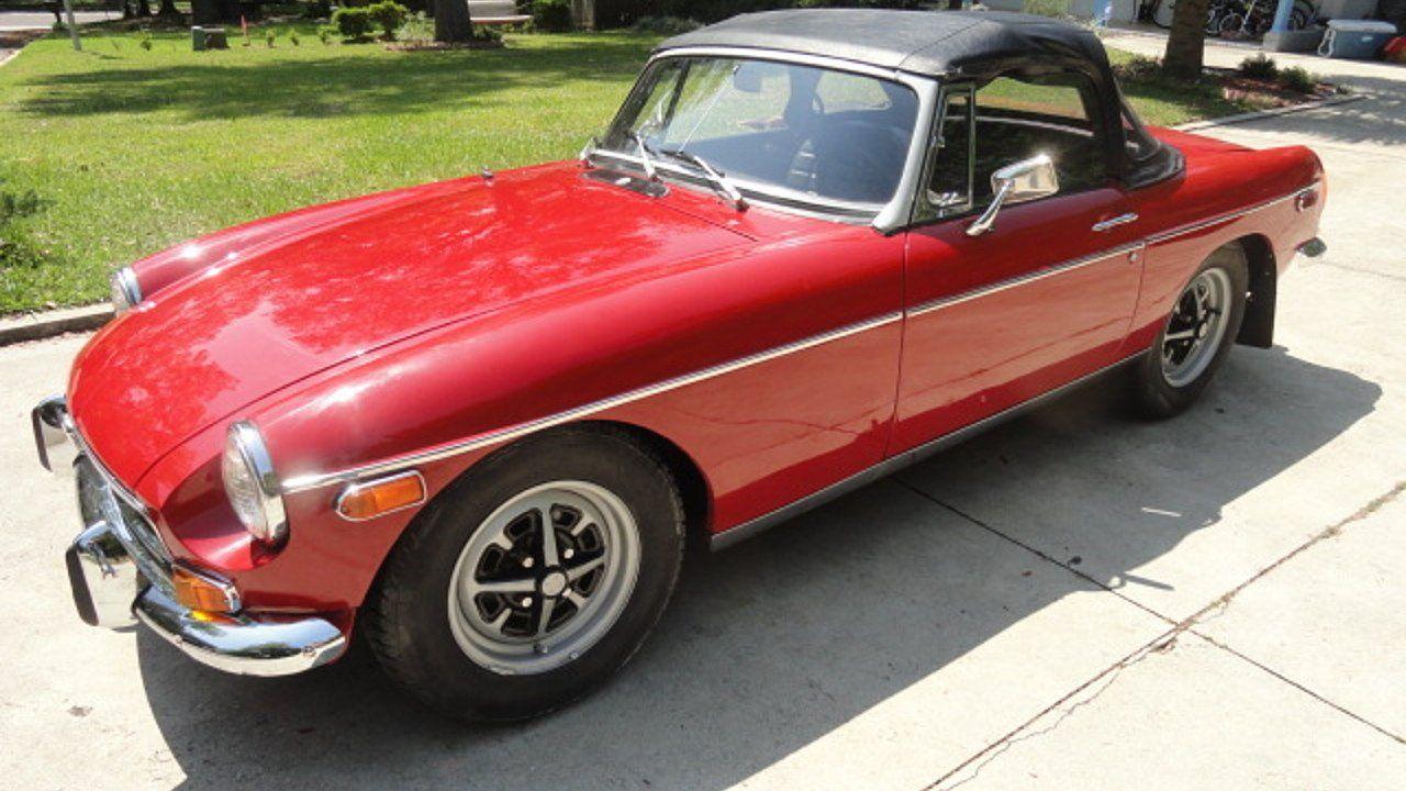 1971 MG MGB for sale near Tallahassee, Florida 32309