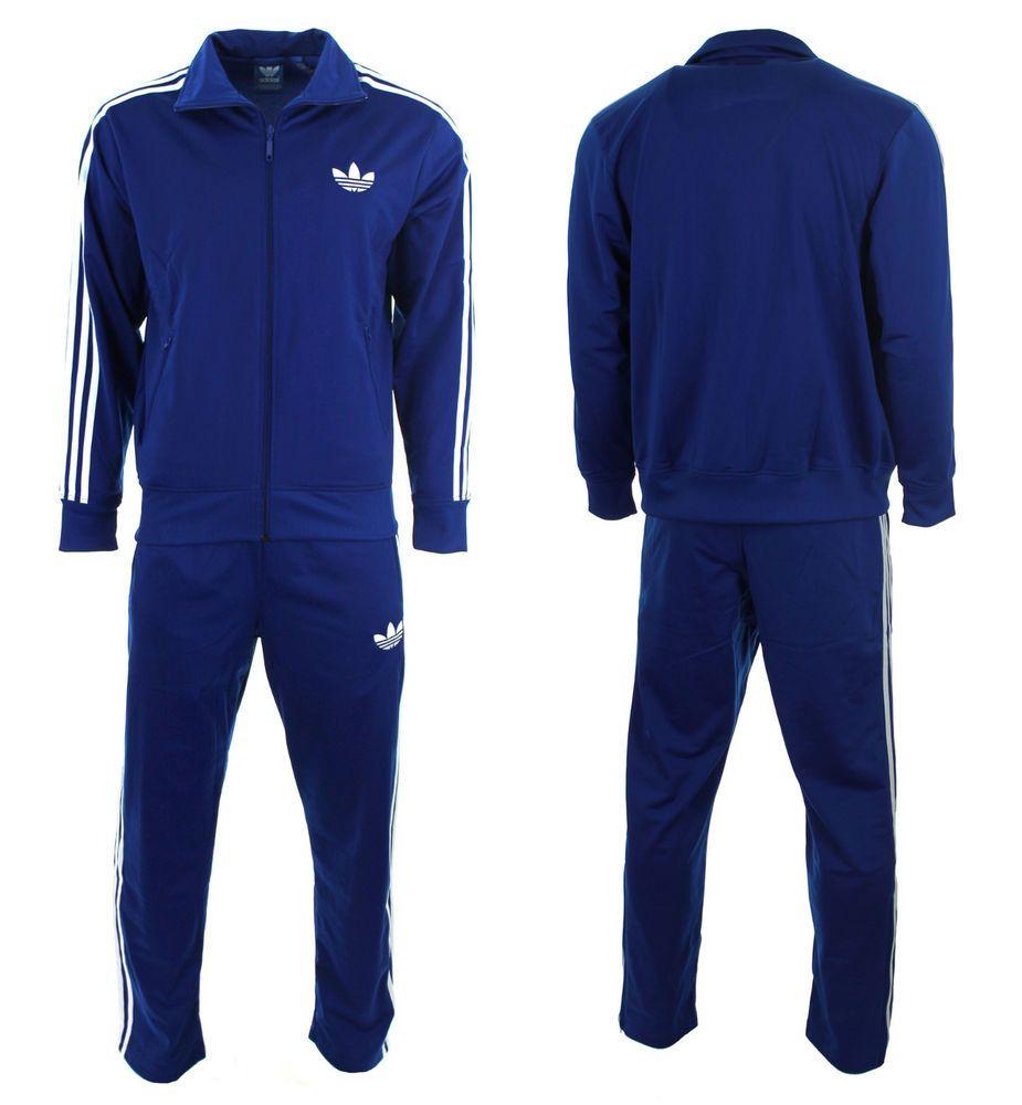 Adidas Originals Men's Firebird Track Suit - Royal Blue ...