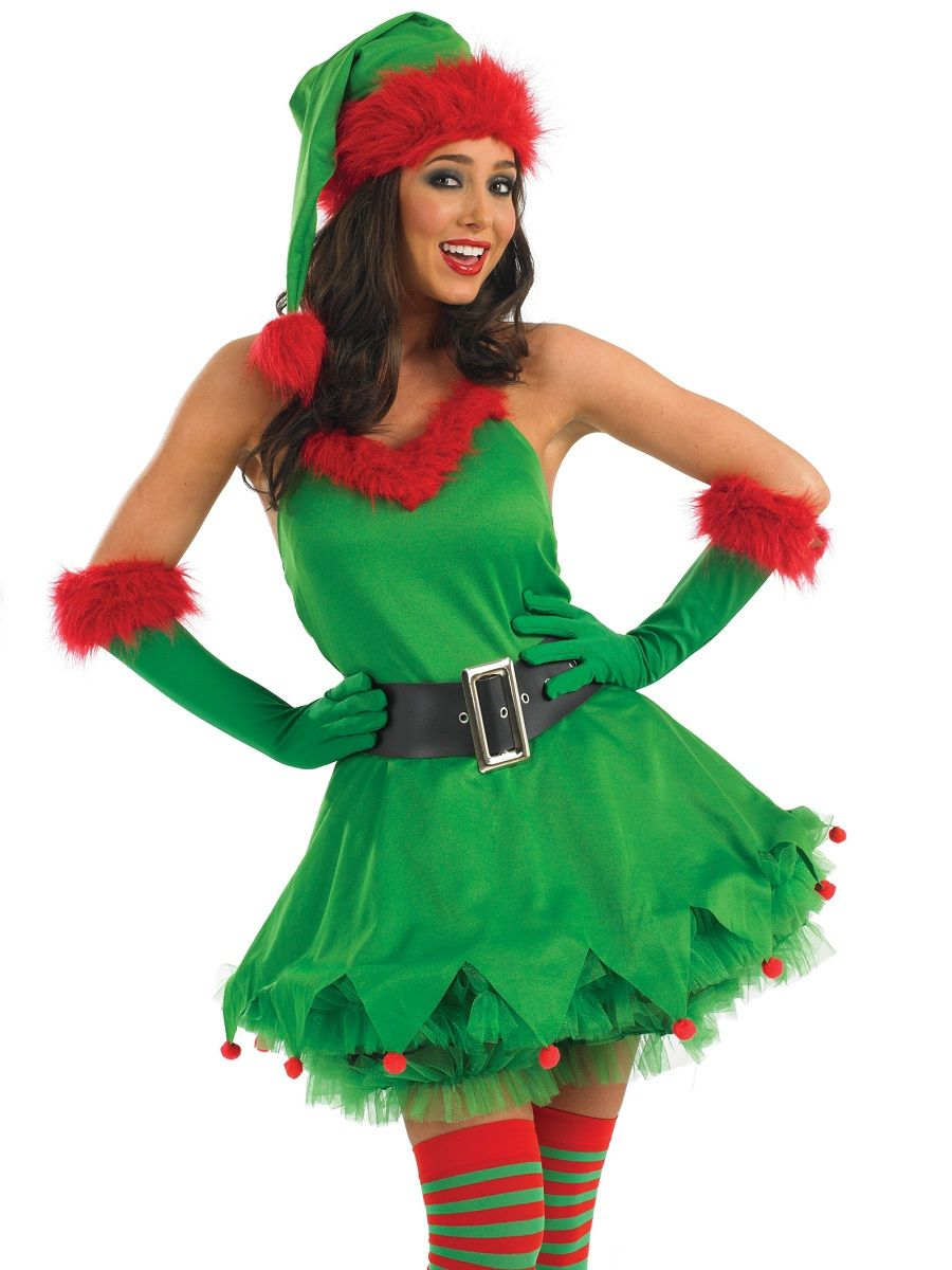 christmas elf costume women - Google Search | Christmas Elf Ideas ...