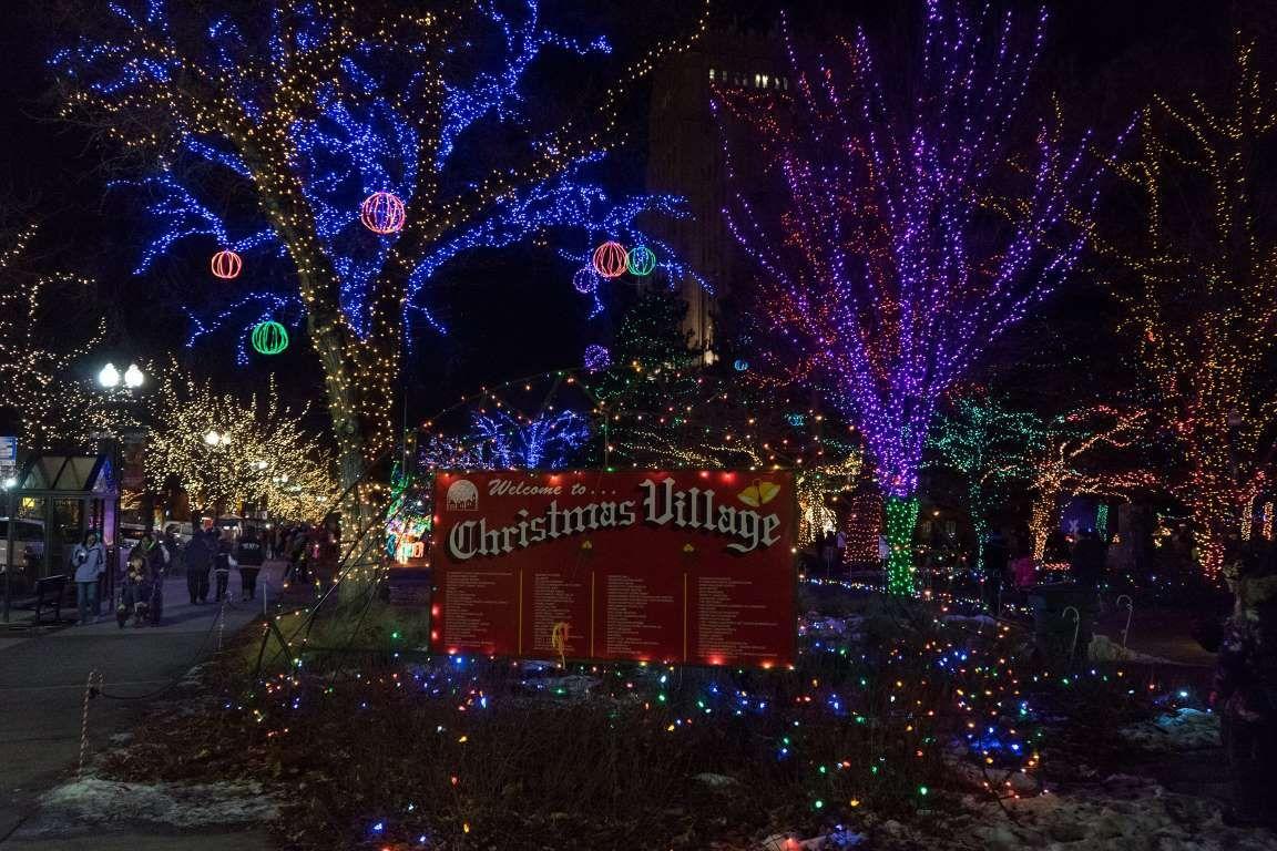 OGDEN, UTAH: Magic is in the air each year in Ogden, which decorates ...