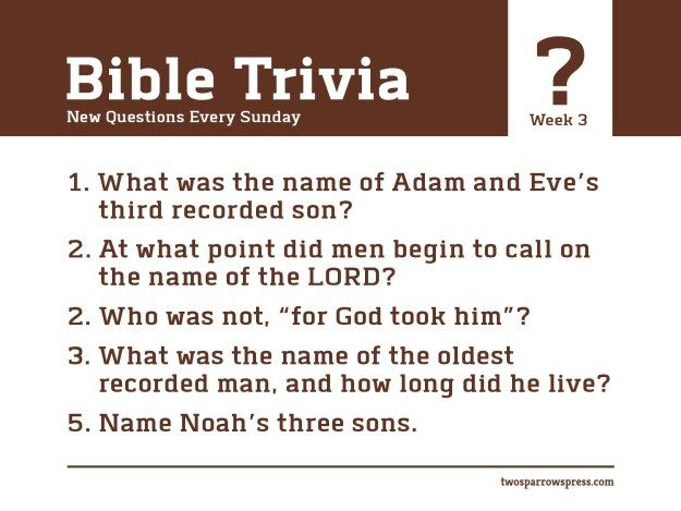 Ridiculous image with printable kjv bible trivia questions and answers