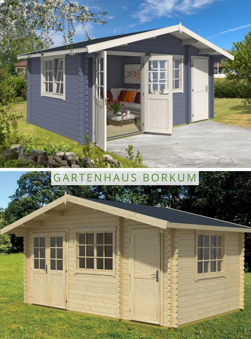 Lasita Maja Gartenhaus Borkum 4 Gartenhaus Haus Garten