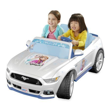 Fisher Price Power Wheels Smart Drive Disney Frozen Ford Mustang