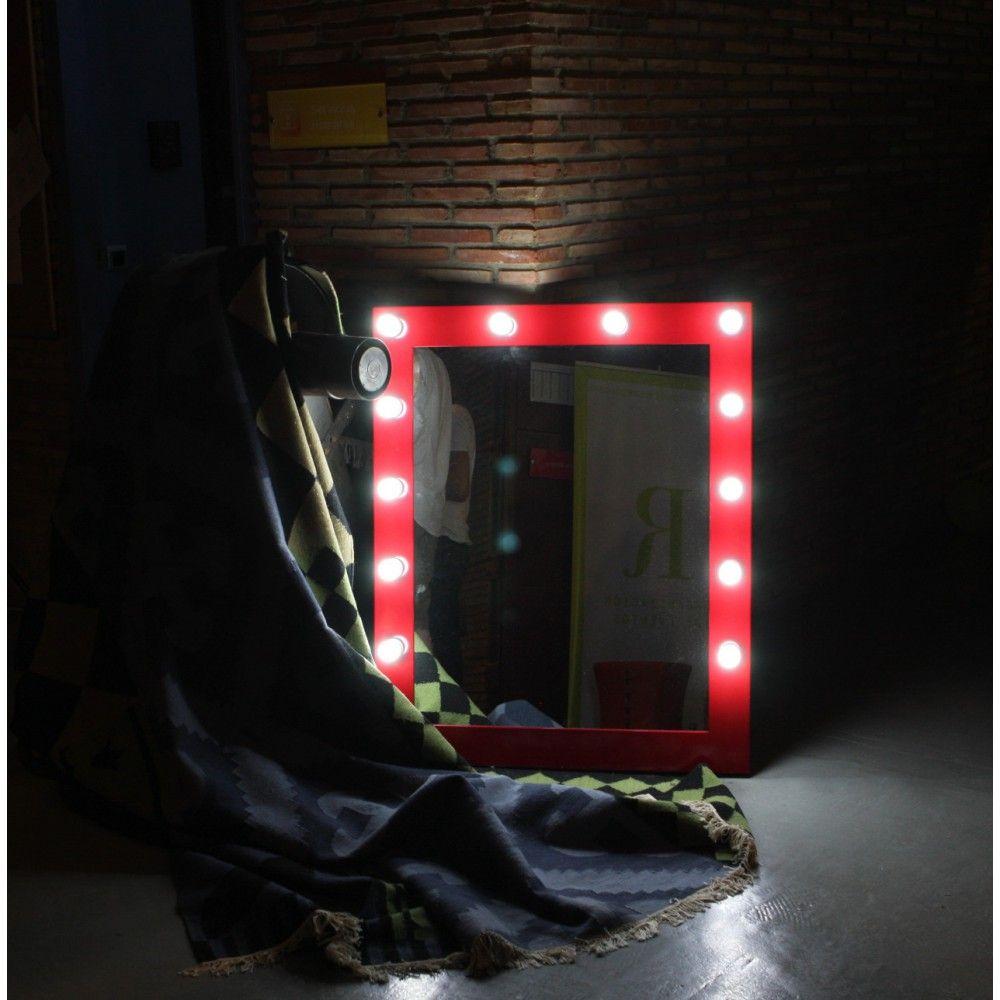 Espejo camerino espejo maquillaje profesional espejo luz - Espejos de camerino ...