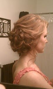 bridesmaid hair :) for my friends wedding